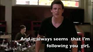 Can't fight this feeling anymore Lyrics (FULL PERFORMANCE) Glee