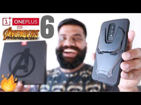 OnePlus 6 Avengers Edition Unboxing and First Look - Powerful Beauty!! 🔥🔥🔥
