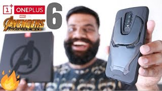 OnePlus 6 Avengers Edition Unboxing and First Look Powerful Beauty!! 🔥🔥🔥