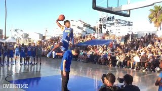 LiAngelo Ball & Jaylen Hands SHUT DOWN Venice Beach! EPIC DUNKS 🔥