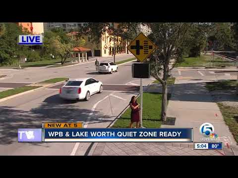 West Palm Beach is 'quiet zone' ready, in the 21-day waiting period for approval