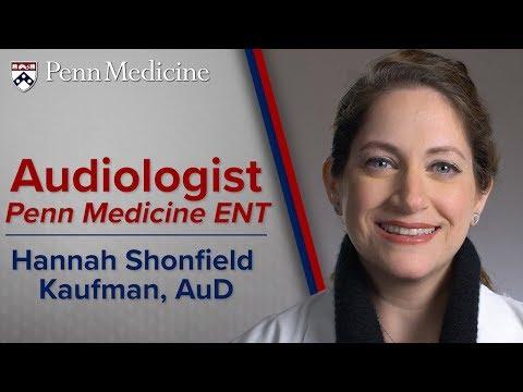 Audiologist: Hannah Shonfield Kaufman