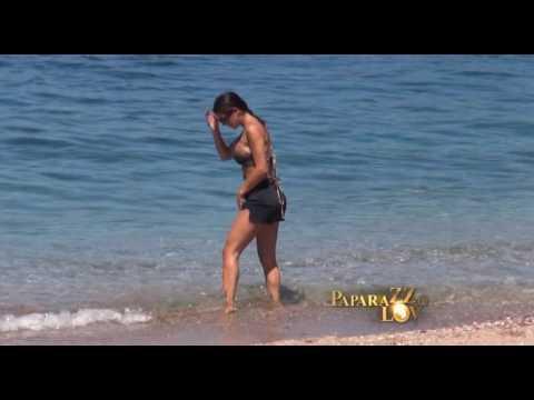 Marina Viskovic na plazi