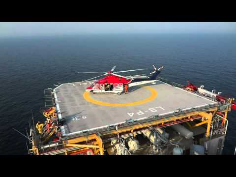Heli landing Offshore production platform.mp4