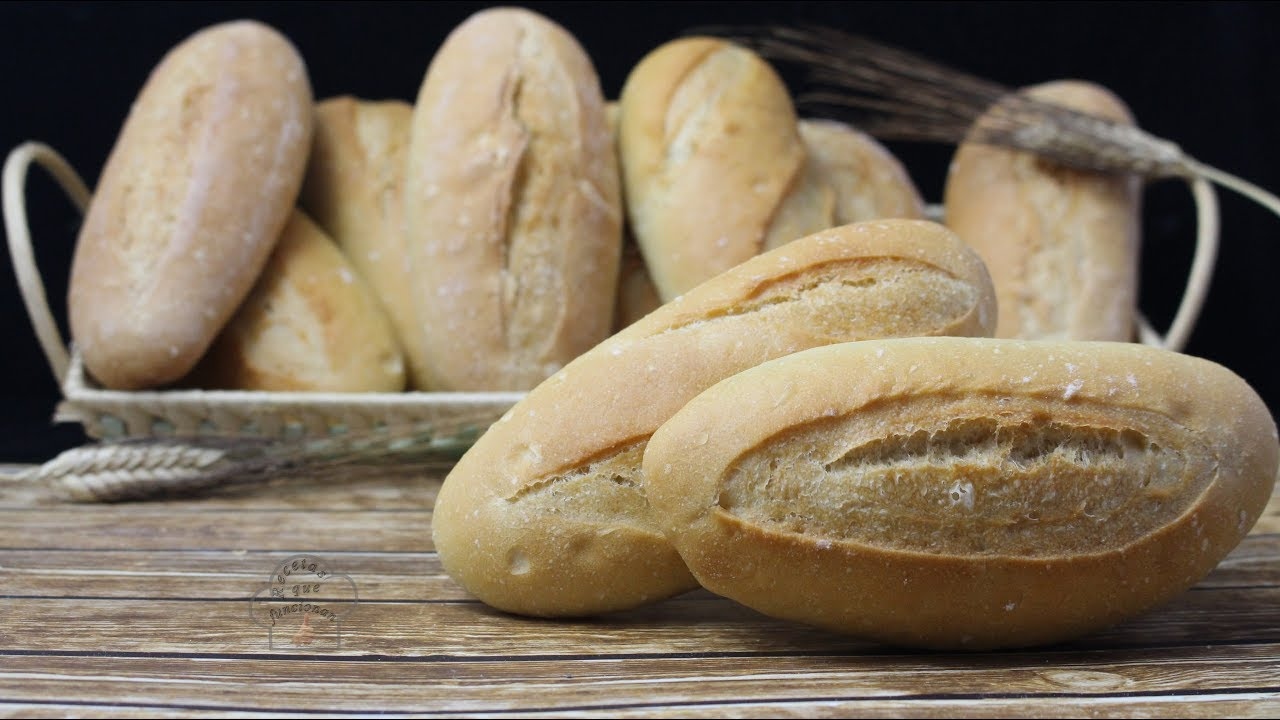 French Bread Loaf Recipe English Subtitles