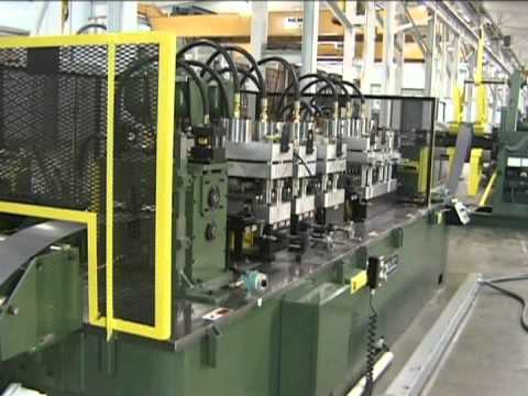 Bradbury Group American Machine Rollform Steel Framing Rollformer ...