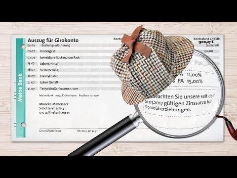 Der CreditPlus-Finanztipp: Kontoauszüge kontrollieren