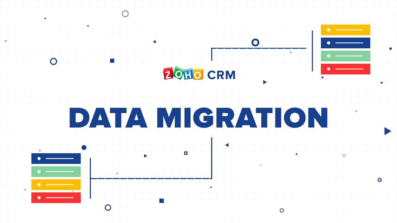 Migrating Data Online Help Zoho Crm