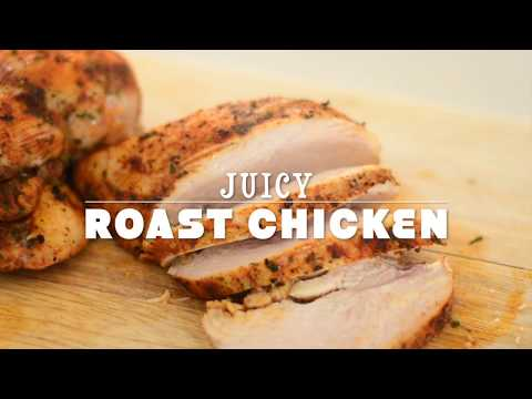 How to Bake Chicken Breasts In The Oven - Juicy and Tender
