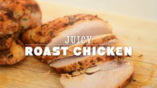How to Bake Chicken Breasts In The Oven - Juicy and Tender | Baked Chicken