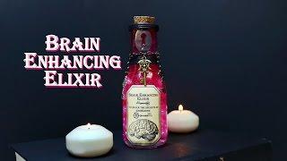 Brain Enhancing Elixir : DIY Potion Bottle : Potion Prop : Steampunk Inspired