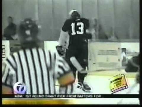 Violent Hockey Stick attacks by Billy Guerin