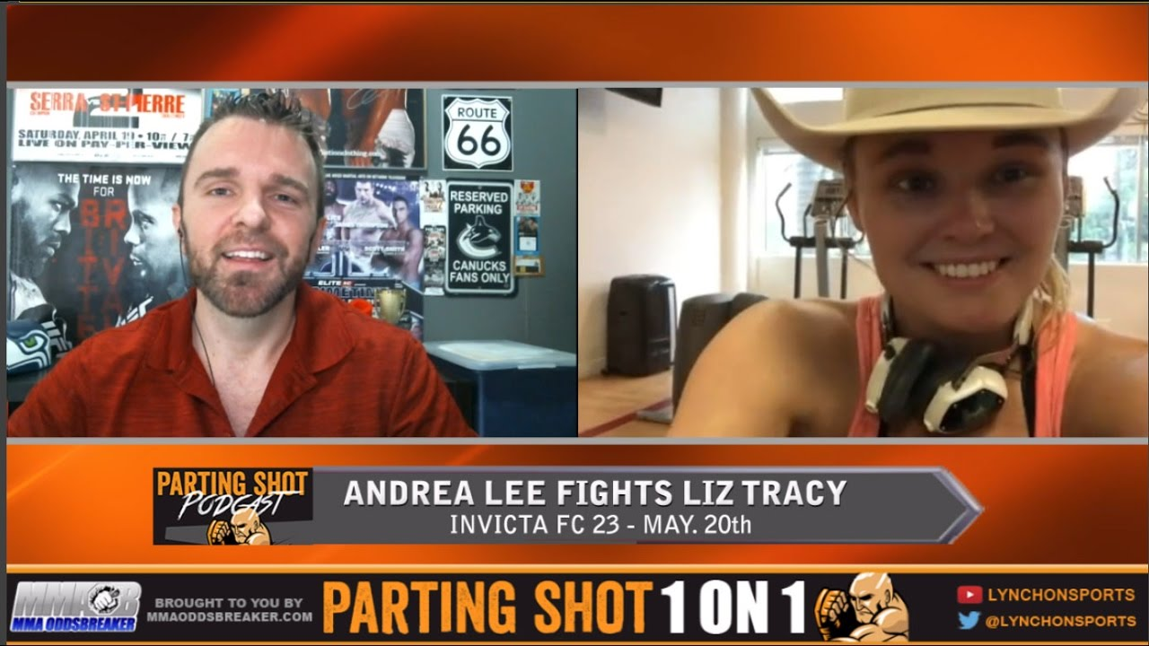 Invicta FC 28's Andrea Lee talks Liz Tracy, winning LFA title & UFC's flyweight division