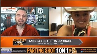 Invicta FC 28's Andrea Lee talks Liz Tracy, winning LFA title & UFC's flyweight division