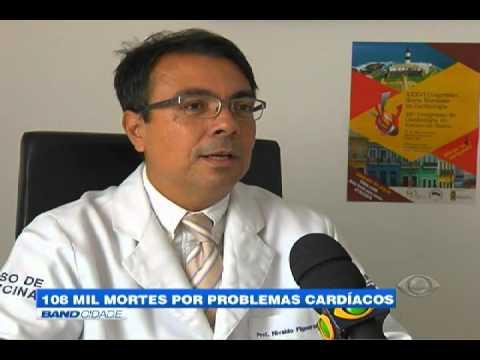"""Band Cidade - """"108 mil mortes por problemas cardíacos"""""""