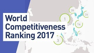 The IMD World Competitiveness Center releases its 2017 World Competitiveness results