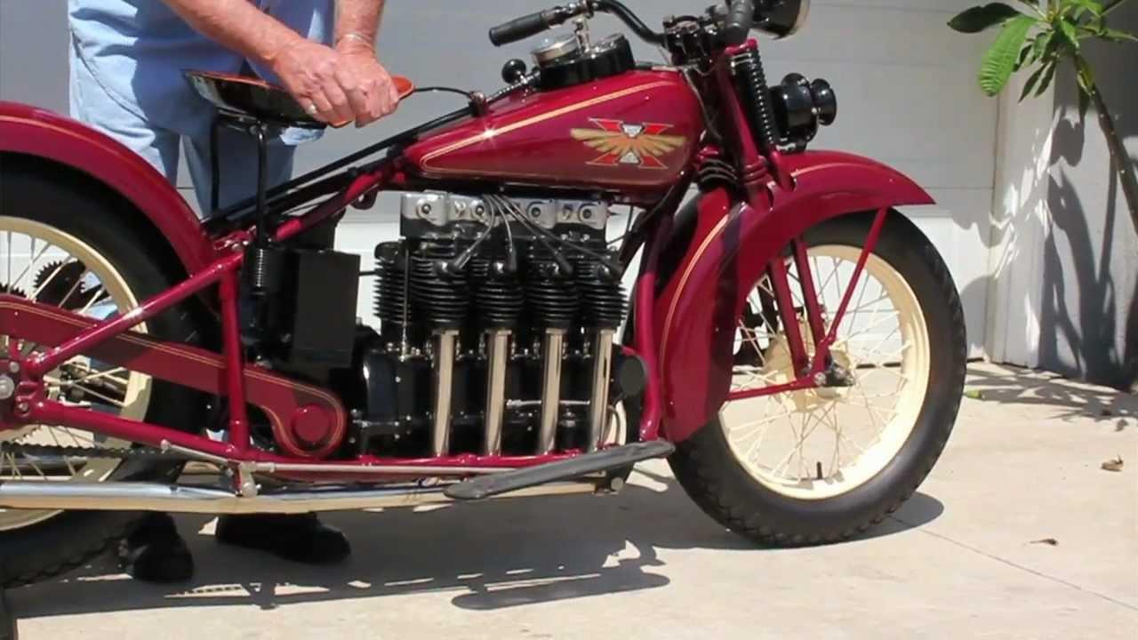 1929 Henderson Kj Motorcycle Doovi