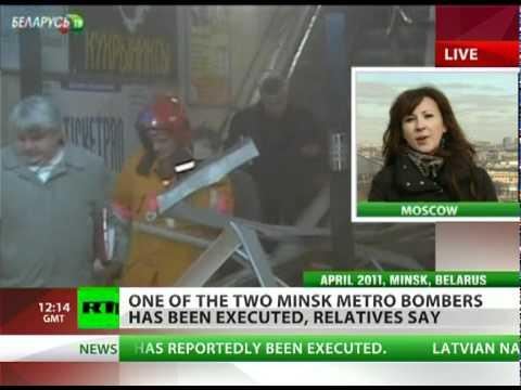 Death for Terror: Metro bomber executed in Belarus