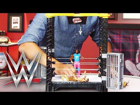 WWE Tough Talkers Demo   WWE   Mattel Action!