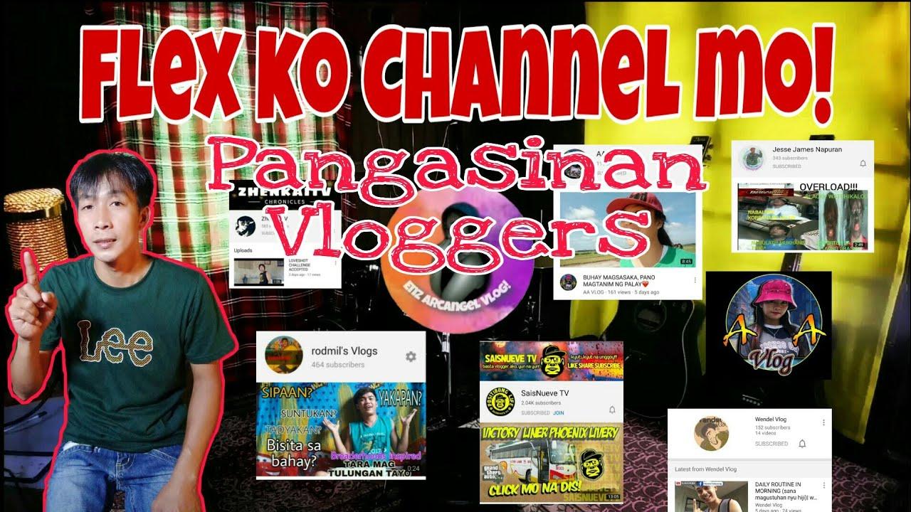 Flex ko Channel mo!