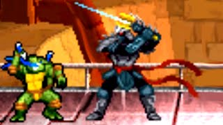 Teenage Mutant Ninja Turtles 3 (DS) All Bosses (No Damage)