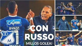 Con La Llegada De Russo Millonarios Golea En Libertadores! Millos 4 Deportivo Lara 0 [Austin]
