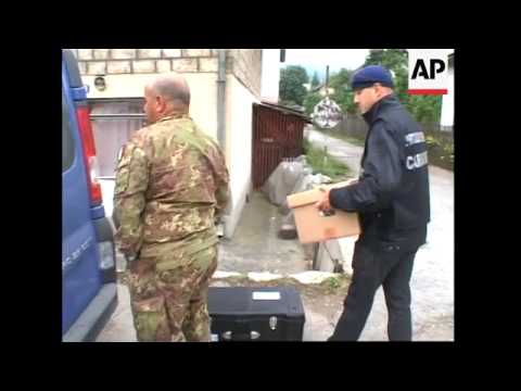NATO raids home of alleged Ratko Mladic ally