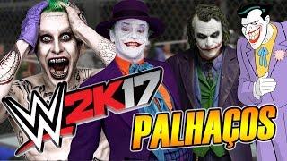 WWE 2K17 - Os Palhaços Assassinos Tomaram Conta