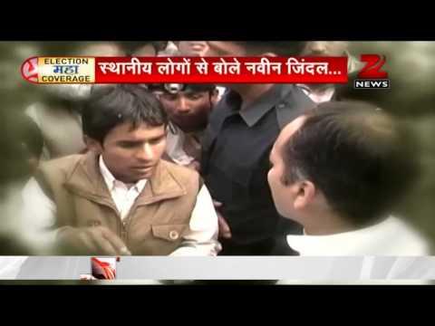 Naveen Jindal in a verbal spat with locals in Kurukshetra