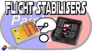 Fixed Wing and Planes 101: Stabiliser or flight controller?
