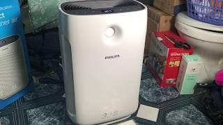 Hướng dẫn sử dụng máy lọc không khí Philips Series 2000 AC2887 - Đo PM 2.5