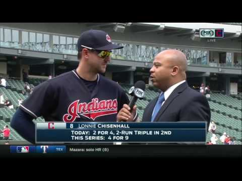 Lonnie Chisenhall is proud of how the Cleveland Indians fought