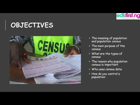 National Population Census | Civic Education | JSS3 | 1st Term