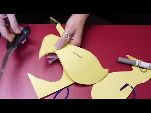 Fun Friday Activity - Yellow Duck Craft