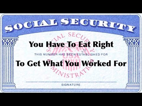 Bad Food = No Social Security Payments
