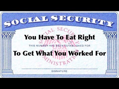 Bad Food = No Social Security Payments