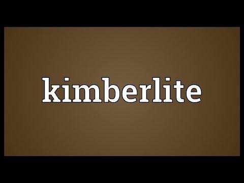 Kimberlite Meaning