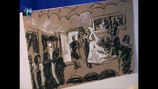 """Уроки рисования (№ 133). Рисуем картину """"Свадьба"""". Часть 1"""