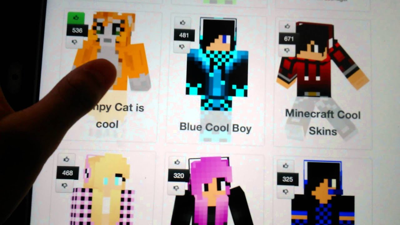 How To Make A Skin In Hidenseek App YouTube - Skins para minecraft pe cat