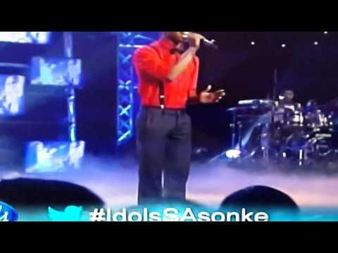 Sonke top 8 perfomance SA idols