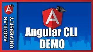 angular final release demo with angular cli