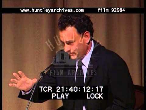Tom Hanks Q&A On Cast Away, 2000's - Film 92984