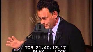 Tom Hanks Q&A on Cast Away, 2000 s - Film 92984