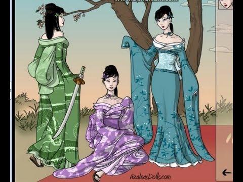 Geisha Scene Maker (azaleasdolls)