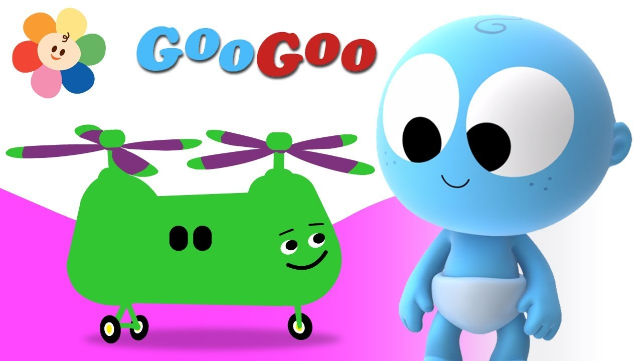 Learning Vehicles | Goo Goo Laughing Baby | Educational
