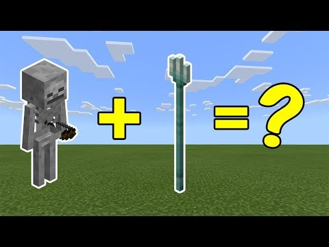 I Combined A Skeleton And A Trident In Minecraft - Here's What Happened...