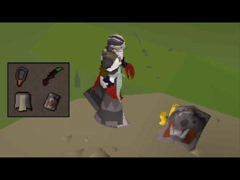 Skull tricking Pkers for bank