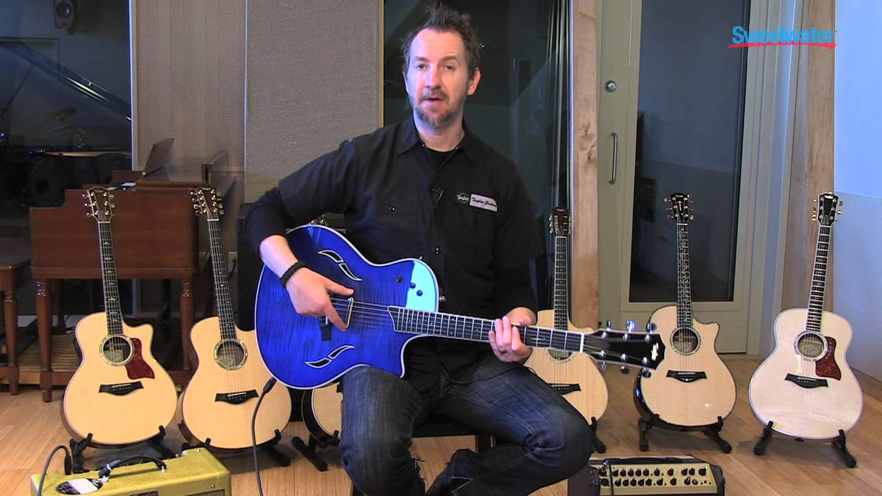 Taylor T5 Acoustic Electric Guitar Demo Sweetwater Sound Youtube