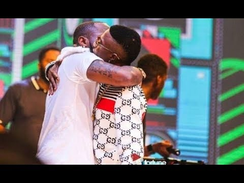 Davido declares Wizkid New Best Friend
