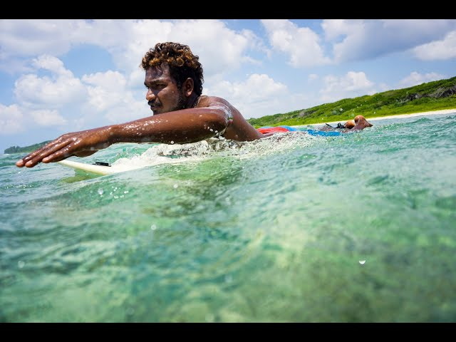 Surfing in Little Andamans - Light House